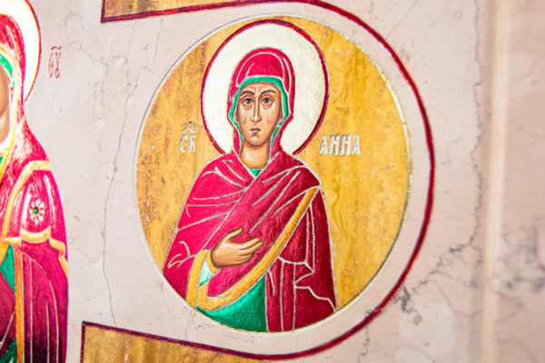 Икона Купятицкой Божией Матери № 02 из камня для храма, на аналой, изображение, фото 23