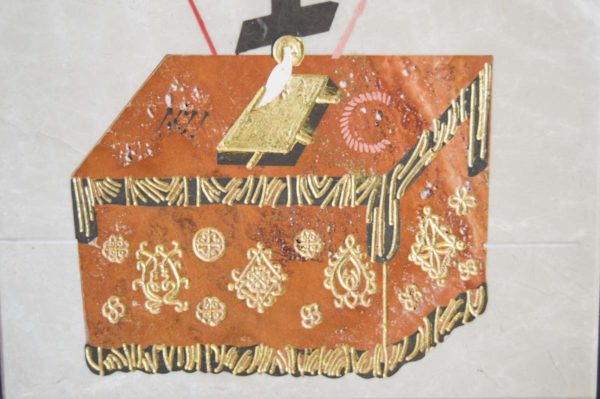Икона Владимирской Божией Матери № 11 из мрамора, камня, от Гливи, фото 14