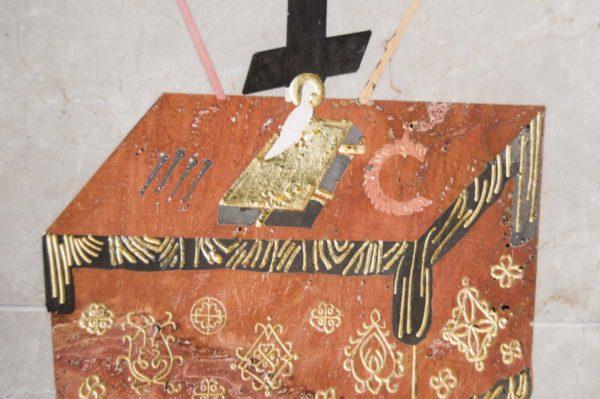 Икона Владимирской Божией Матери № 10 из мрамора, камня, от Гливи, фото 17