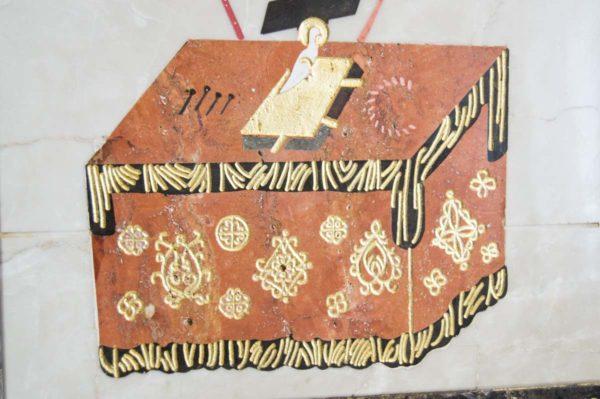 Икона Владимирской Божией Матери № 12 из мрамора, камня, от Гливи, фото 10