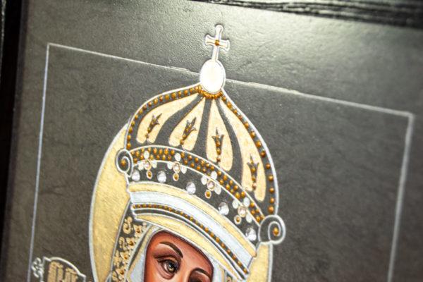 Икона Будславской Божией Матери № 3-05 из камня, каталог икон, изображение, фото 5