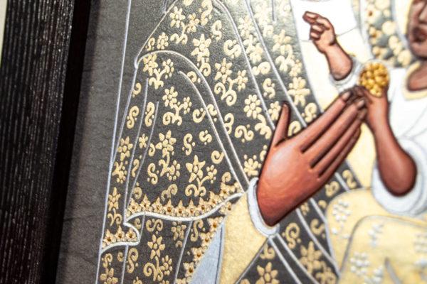 Икона Будславской Божией Матери № 3-05 из камня, каталог икон, изображение, фото 9