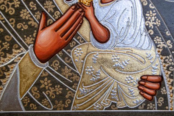 Икона Будславской Божией Матери № 3-05 из камня, каталог икон, изображение, фото 11