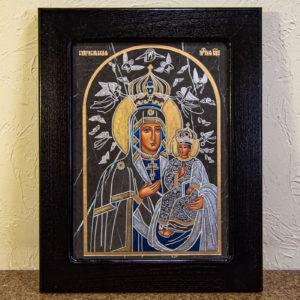 Икона Супрасльской Божьей (Божией) матери № 01, интернет магазин икон, изображение, фото 1