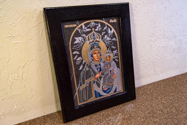 Икона Супрасльской Божьей (Божией) матери № 01, интернет магазин икон, изображение, фото 2