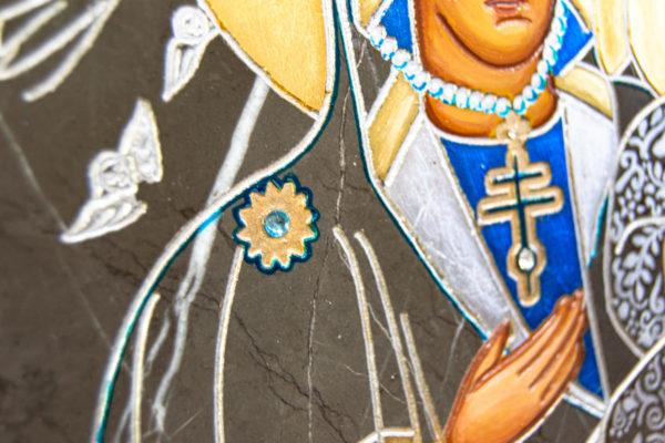 Икона Супрасльской Божьей (Божией) матери № 01, интернет магазин икон, изображение, фото 3