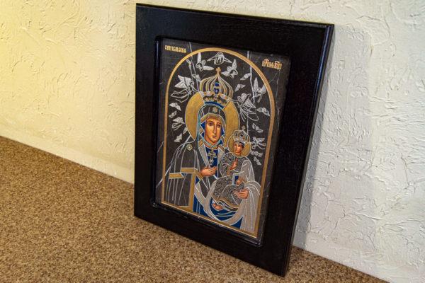 Икона Супрасльской Божьей (Божией) матери № 01, интернет магазин икон, изображение, фото 4