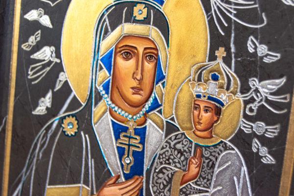 Икона Супрасльской Божьей (Божией) матери № 01, интернет магазин икон, изображение, фото 5