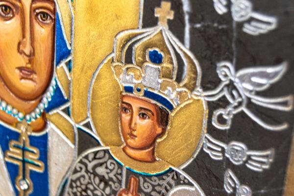 Икона Супрасльской Божьей (Божией) матери № 01, интернет магазин икон, изображение, фото 7