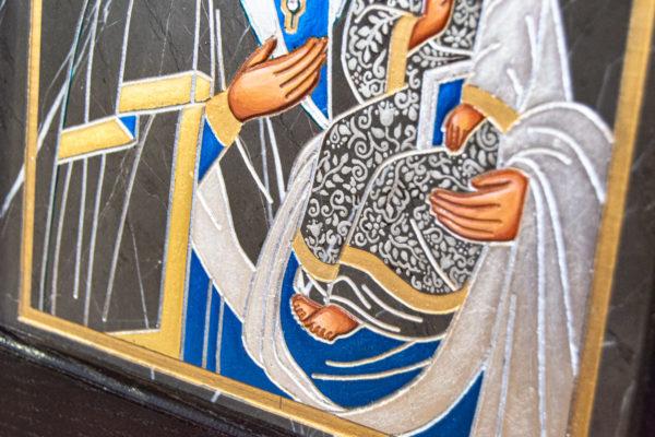 Икона Супрасльской Божьей (Божией) матери № 01, интернет магазин икон, изображение, фото 8