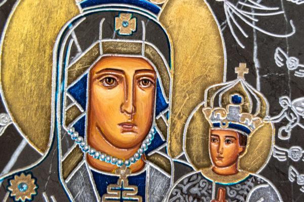 Икона Супрасльской Божьей (Божией) матери № 01, интернет магазин икон, изображение, фото 10