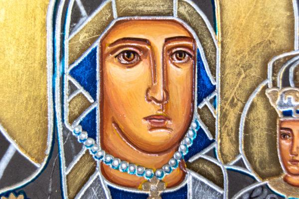 Икона Супрасльской Божьей (Божией) матери № 01, интернет магазин икон, изображение, фото 13
