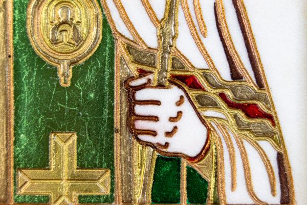 Икона Луки Крымского № 02 из мрамора, камня, каталог икон, фото 3