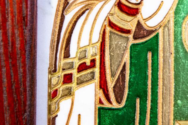Икона Луки Крымского № 02 из мрамора, камня, каталог икон, фото 4