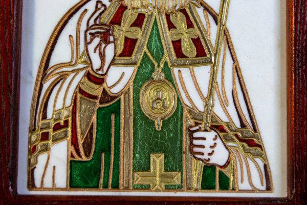 Икона Луки Крымского № 02 из мрамора, камня, каталог икон, фото 5