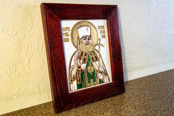 Икона Луки Крымского № 02 из мрамора, камня, каталог икон, фото 6