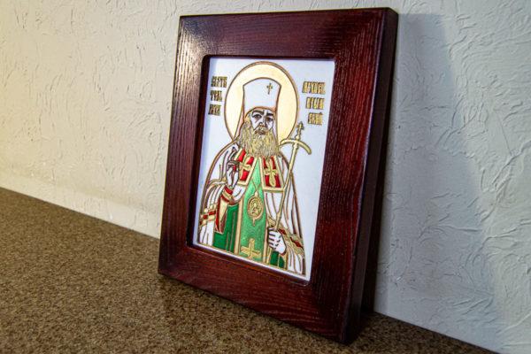 Икона Луки Крымского № 02 из мрамора, камня, каталог икон, фото 8