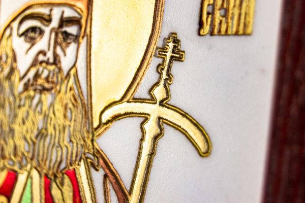 Икона Луки Крымского № 02 из мрамора, камня, каталог икон, фото 9