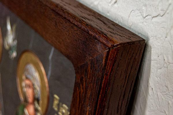 Семейная икона из мрамора - Святые Мелания и Ирина № 02, каталог икон, изображение, фото 5