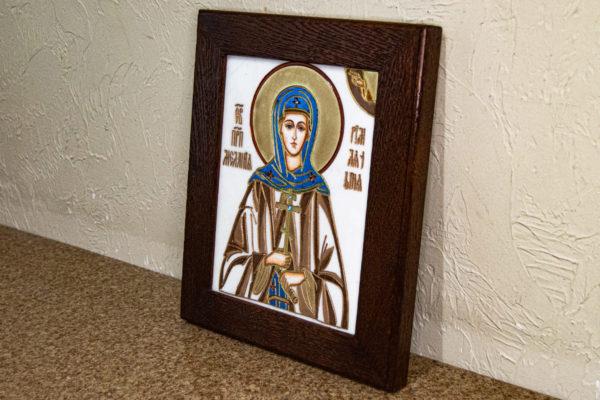 Икона Святой Мелании № 01 из мрамора, каталог икон в интернет-магазине, изображение, фото 3