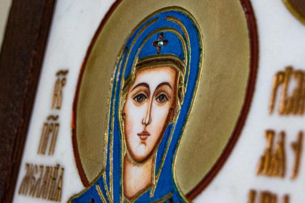 Икона Святой Мелании № 01 из мрамора, каталог икон в интернет-магазине, изображение, фото 4