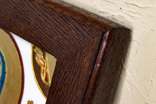 Икона Святой Мелании № 01 из мрамора, каталог икон в интернет-магазине, изображение, фото 5