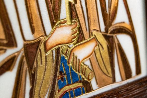 Икона Святой Мелании № 01 из мрамора, каталог икон в интернет-магазине, изображение, фото 6
