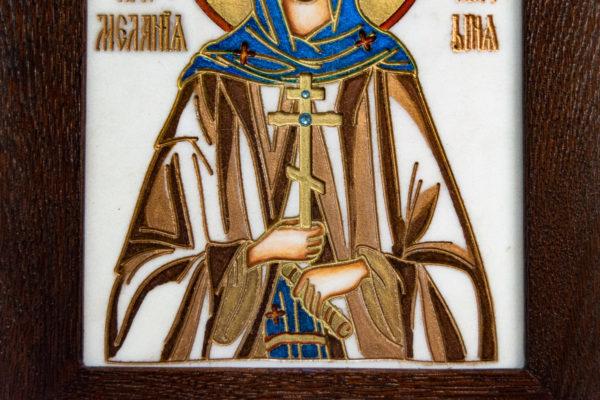 Икона Святой Мелании № 01 из мрамора, каталог икон в интернет-магазине, изображение, фото 11