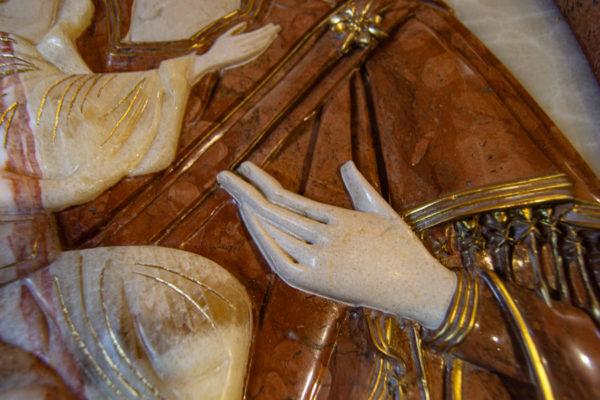 Икона Храмовая (Аналойная) Божьей Матери Жировичской, изображение, фото 2