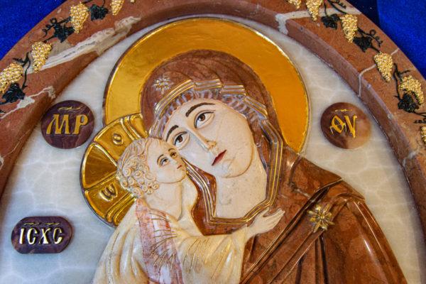 Икона Храмовая (Аналойная) Божьей Матери Жировичской, изображение, фото 3