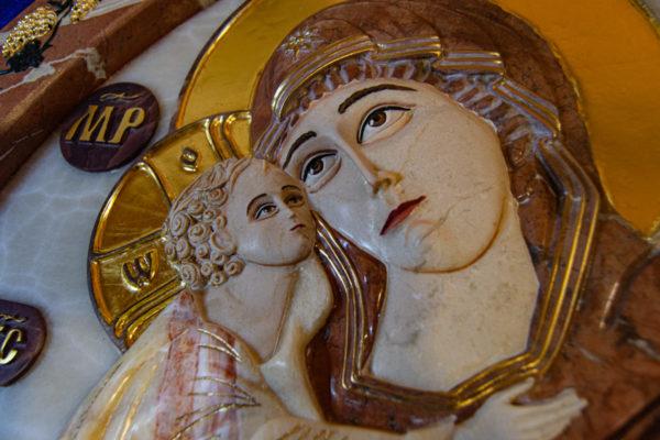 Икона Храмовая (Аналойная) Божьей Матери Жировичской, изображение, фото 4