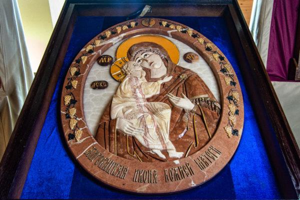Икона Храмовая (Аналойная) Божьей Матери Жировичской, изображение, фото 9