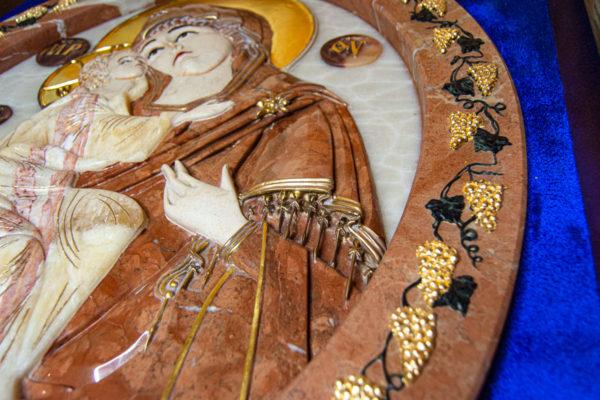 Икона Храмовая (Аналойная) Божьей Матери Жировичской, изображение, фото 10