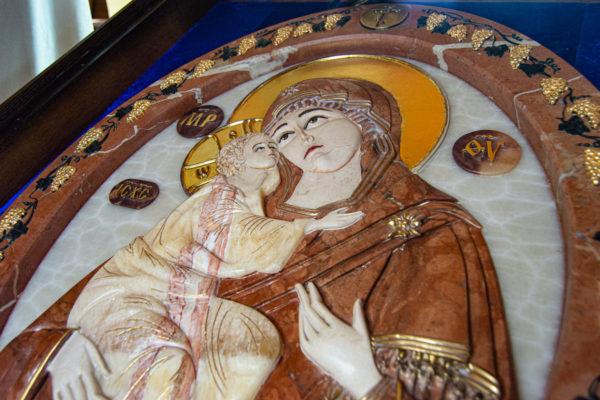 Икона Храмовая (Аналойная) Божьей Матери Жировичской, изображение, фото 11
