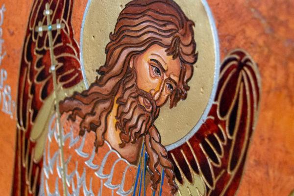 Семейная икона, Святые Иоанн Креститель (Иоанн Предтеча) и Виталий№ 01, изображение, фото 4