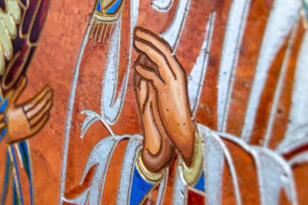 Семейная икона, Святые Иоанн Креститель (Иоанн Предтеча) и Виталий№ 01, изображение, фото 5