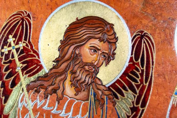 Семейная икона, Святые Иоанн Креститель (Иоанн Предтеча) и Виталий№ 01, изображение, фото 11