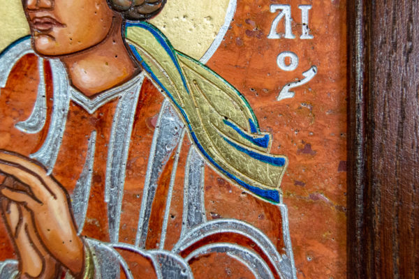 Семейная икона, Святые Иоанн Креститель (Иоанн Предтеча) и Виталий№ 01, изображение, фото 17