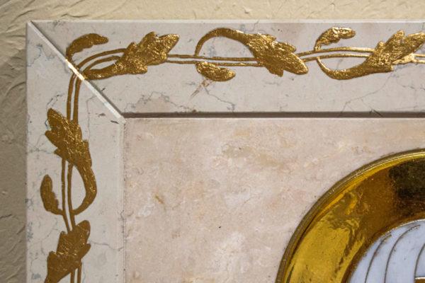 Икона Минская Богородица под № 1-12-9 из мрамора, изображение, фото для каталога икон 7