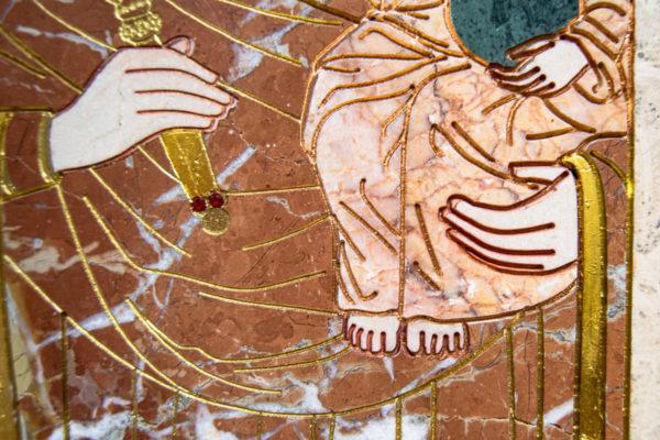 Икона Минская Богородица под № 1-12-4 из мрамора, изображение, фото для каталога икон 9