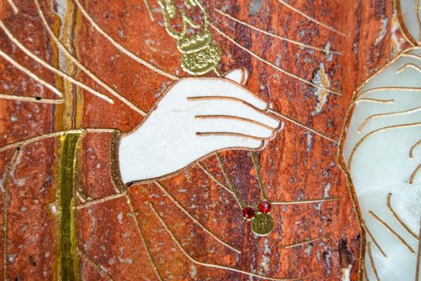 Икона Минская Богородица под № 1-12-2 из мрамора, изображение, фото для каталога икон 11