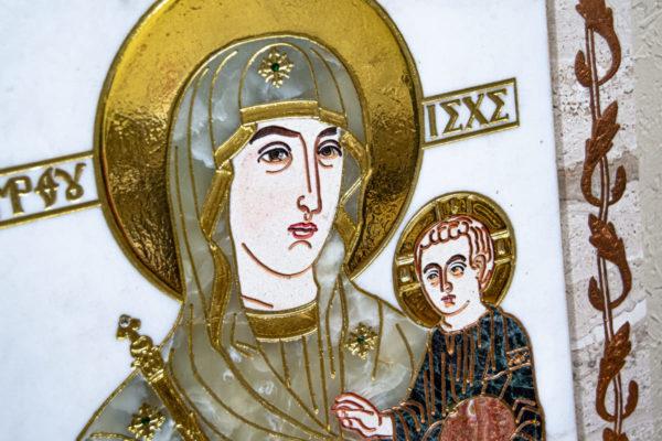 Икона Минская Богородица под № 1-12-1 из мрамора, изображение, фото для каталога икон 7