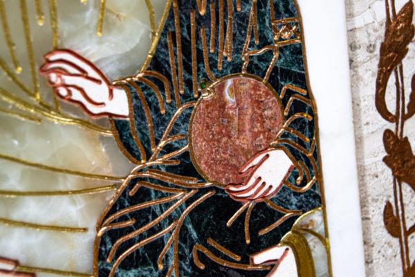 Икона Минская Богородица под № 1-12-1 из мрамора, изображение, фото для каталога икон 9