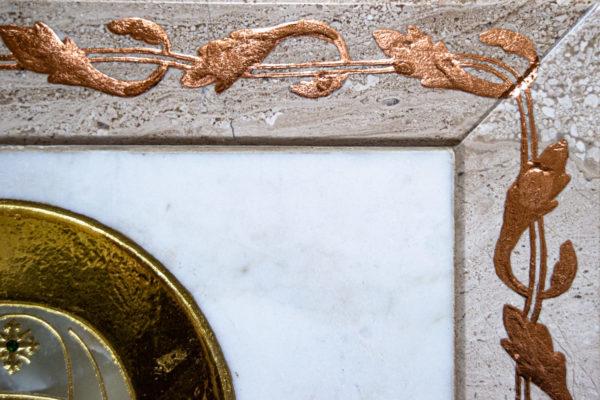 Икона Минская Богородица под № 1-12-1 из мрамора, изображение, фото для каталога икон 12