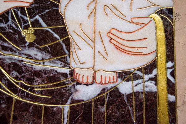 Икона Минская Богородица под № 1-12-5 из мрамора, изображение, фото для каталога икон 8