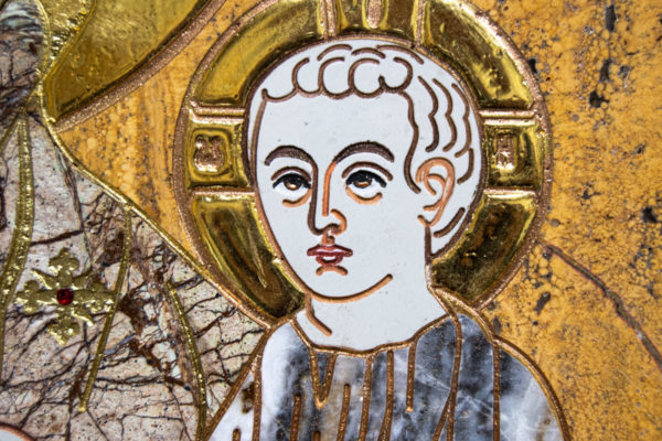 Икона Минская Богородица под № 1-12-12 из мрамора, изображение, фото для каталога икон 7