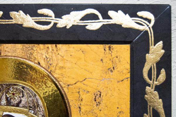 Икона Минская Богородица под № 1-12-12 из мрамора, изображение, фото для каталога икон 9