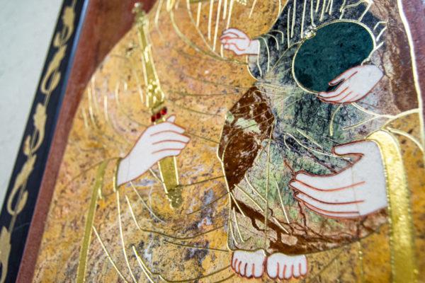 Икона Минская Богородица под № 1-12-3 из мрамора, изображение, фото для каталога икон 9