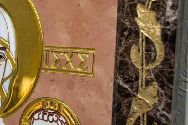 Икона Минская Богородица под № 1-12-11 из мрамора, изображение, фото для каталога икон 5
