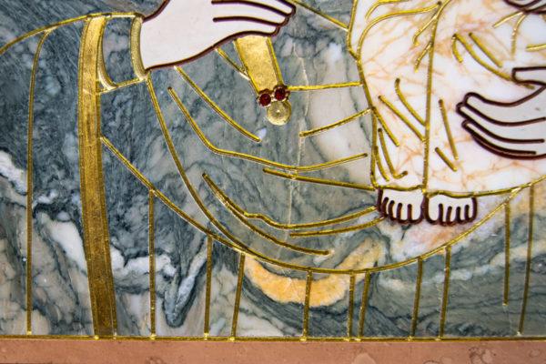 Икона Минская Богородица под № 1-12-11 из мрамора, изображение, фото для каталога икон 10